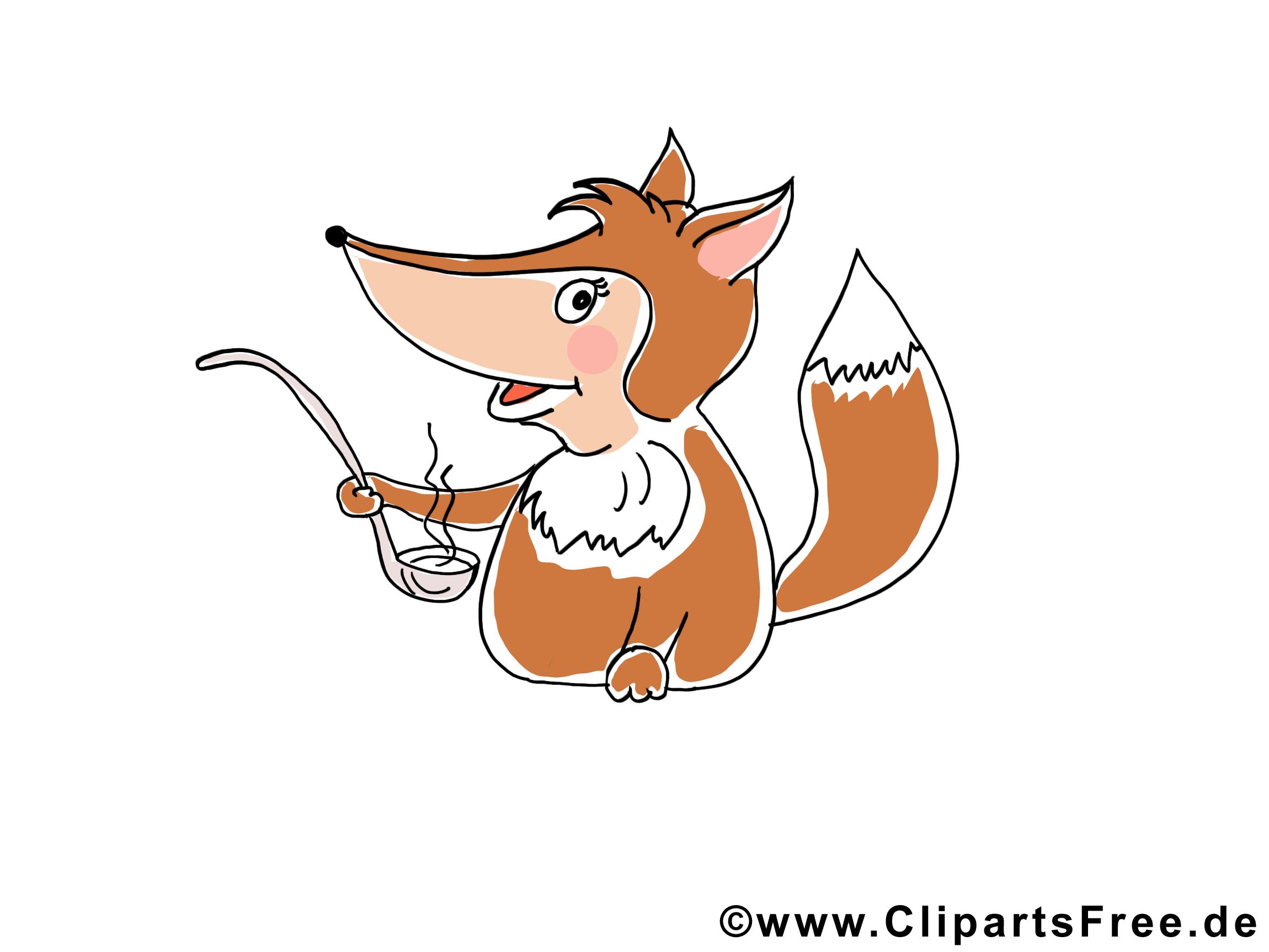 Renard image – Animal images cliparts