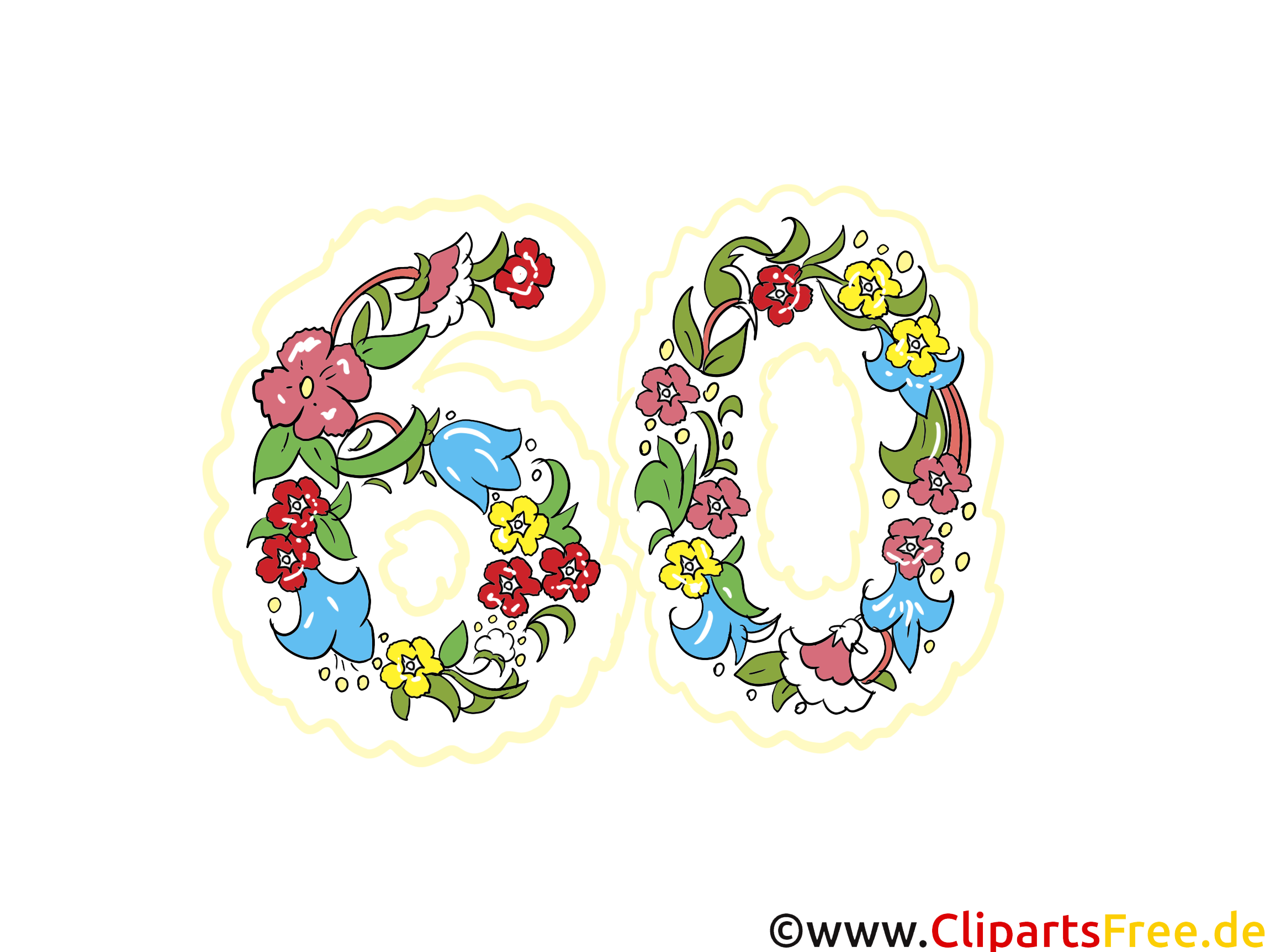 60 ans images anniversaire dessins gratuits - Dessin pour anniversaire 60 ans ...