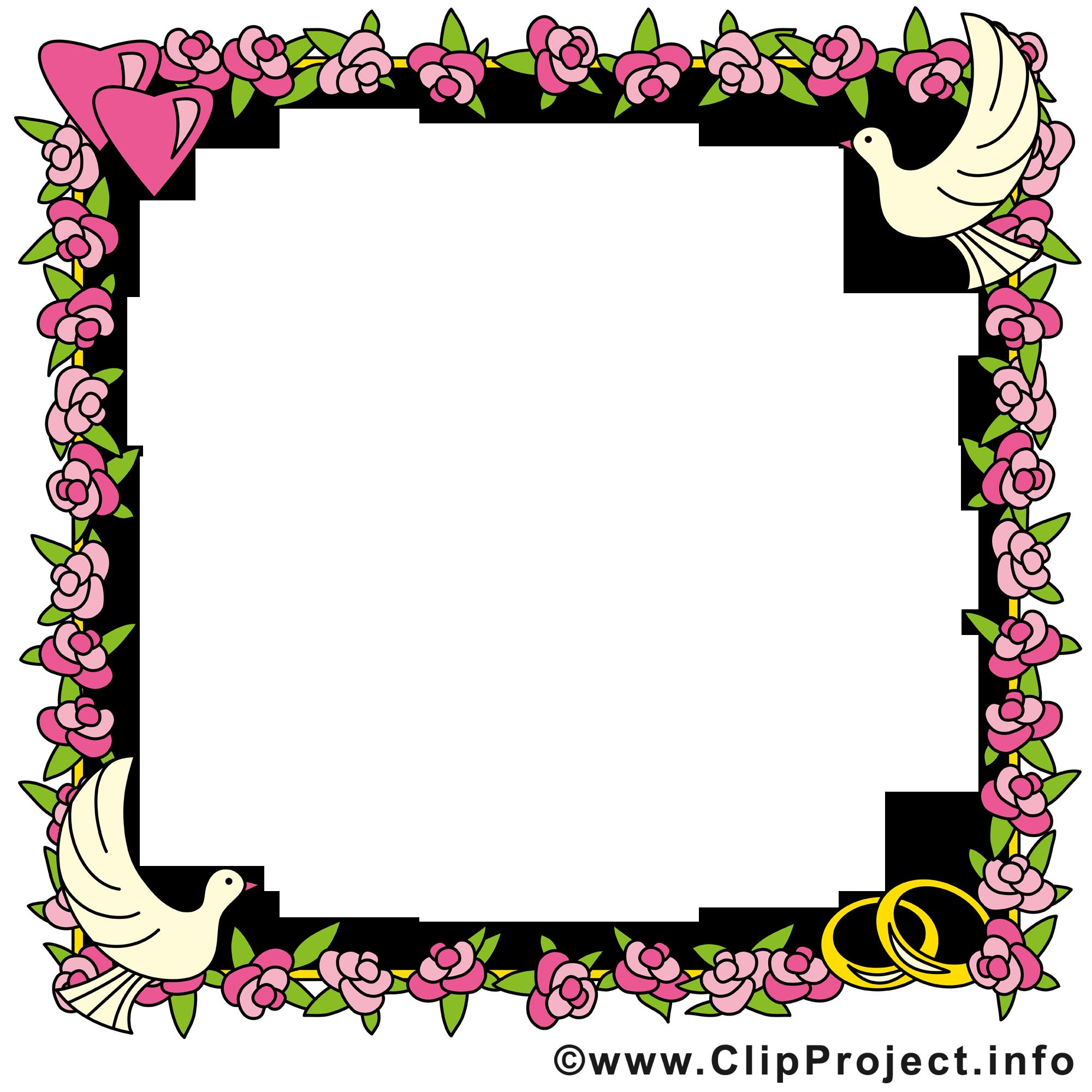 fleurs clip arts gratuits  cadre illustrations  cadres