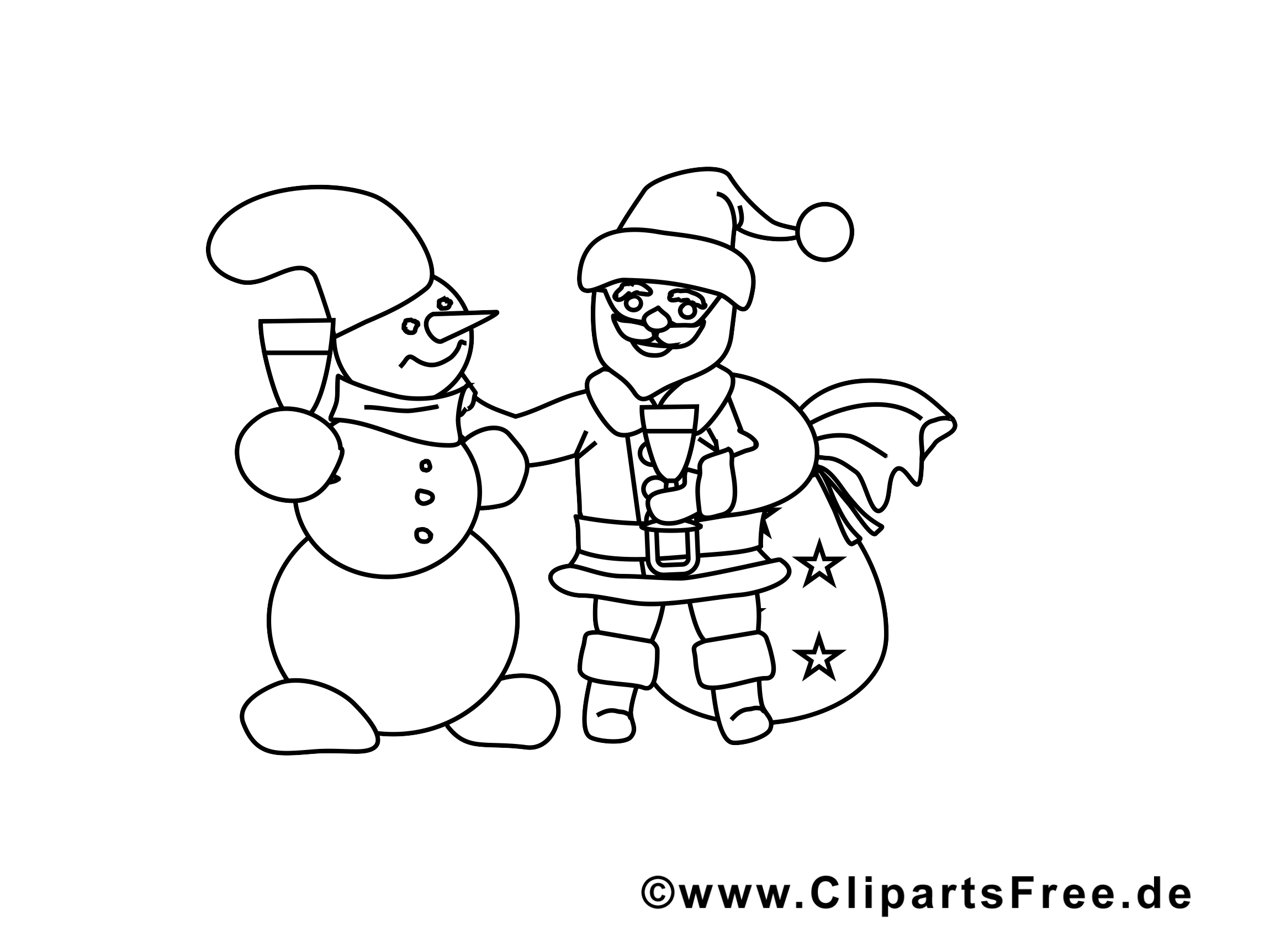 Coloriage p re noel gratuit cartes de no l dessin picture image graphic clip art - Clipart pere noel gratuit ...
