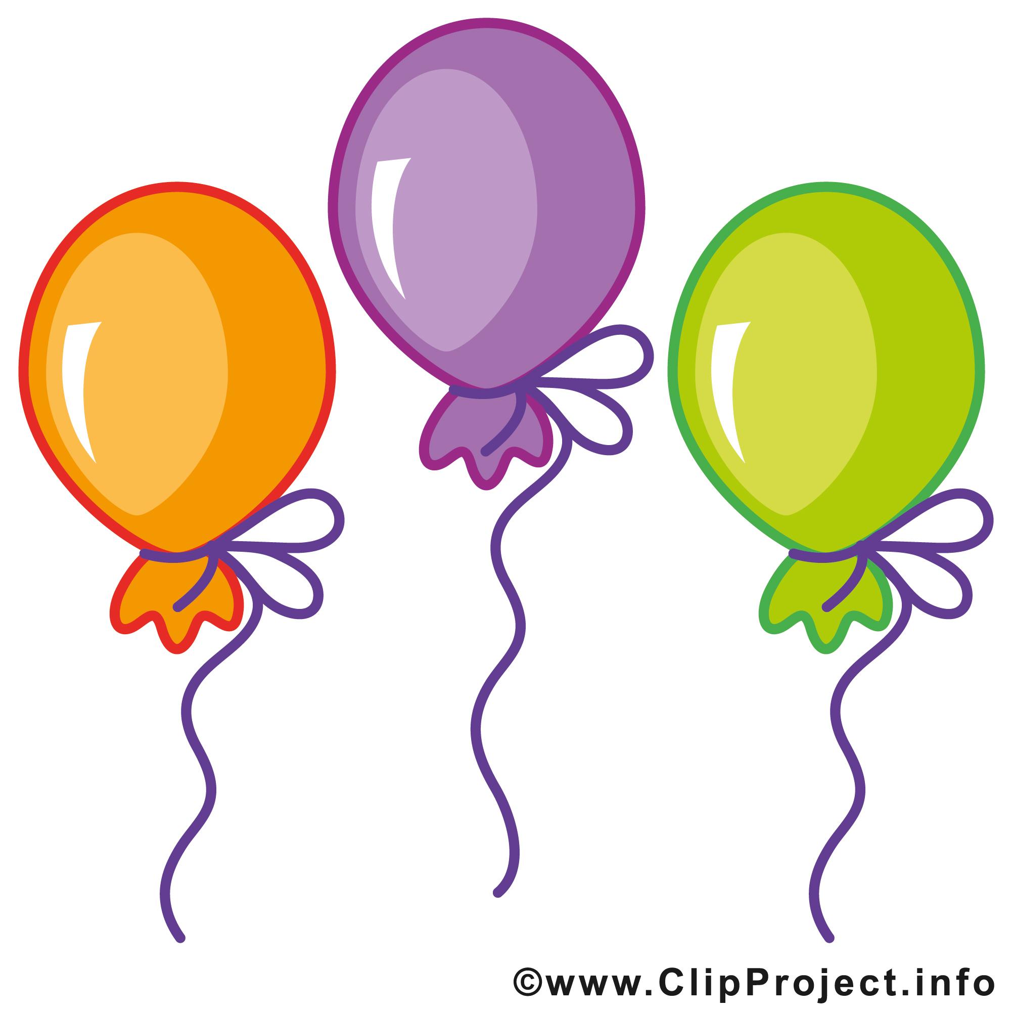 Ballons dessins gratuits anniversaire clipart cartes - Clipart anniversaire gratuit ...