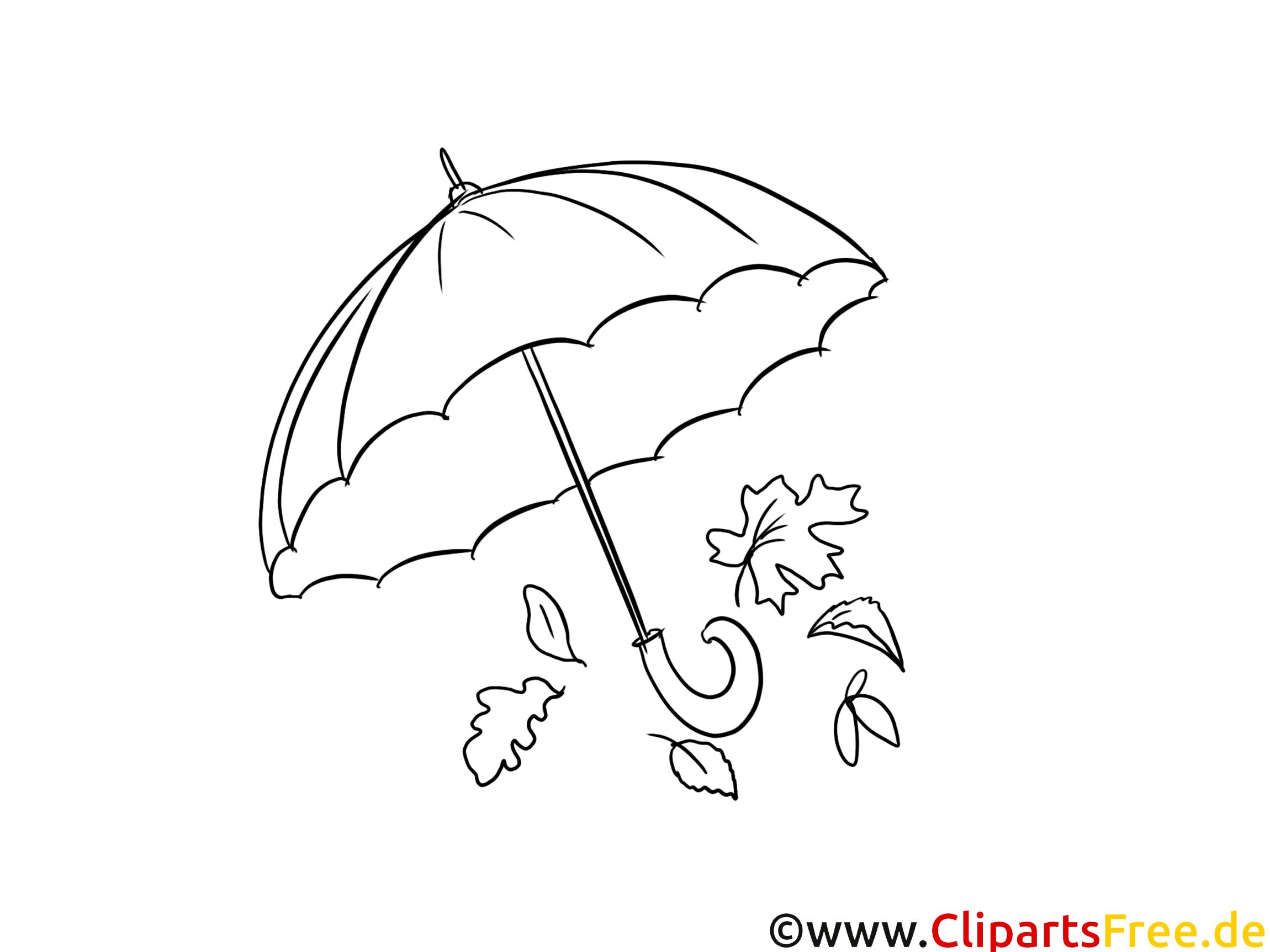 Parapluie dessins gratuits automne colorier automne - Parapluie dessin ...