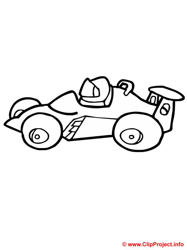 voiture de course coloriage gratuit formule 1 1542