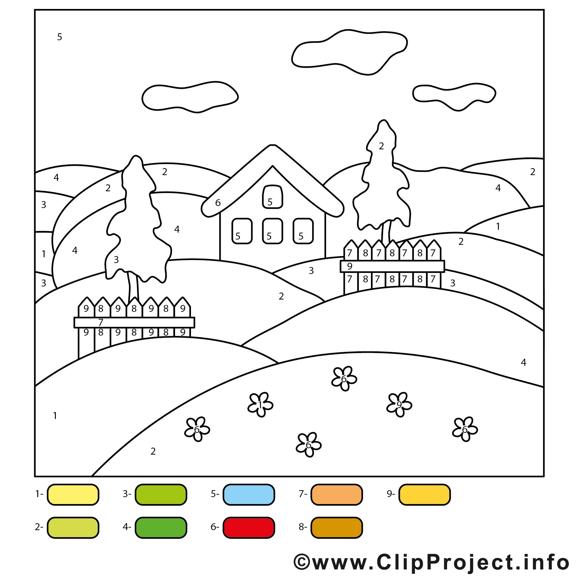 Peinture A Numeros A Imprimer Image Gratuite Magiques Coloriages Dessin Picture Image Graphic Clip Art Telecharger Gratuit