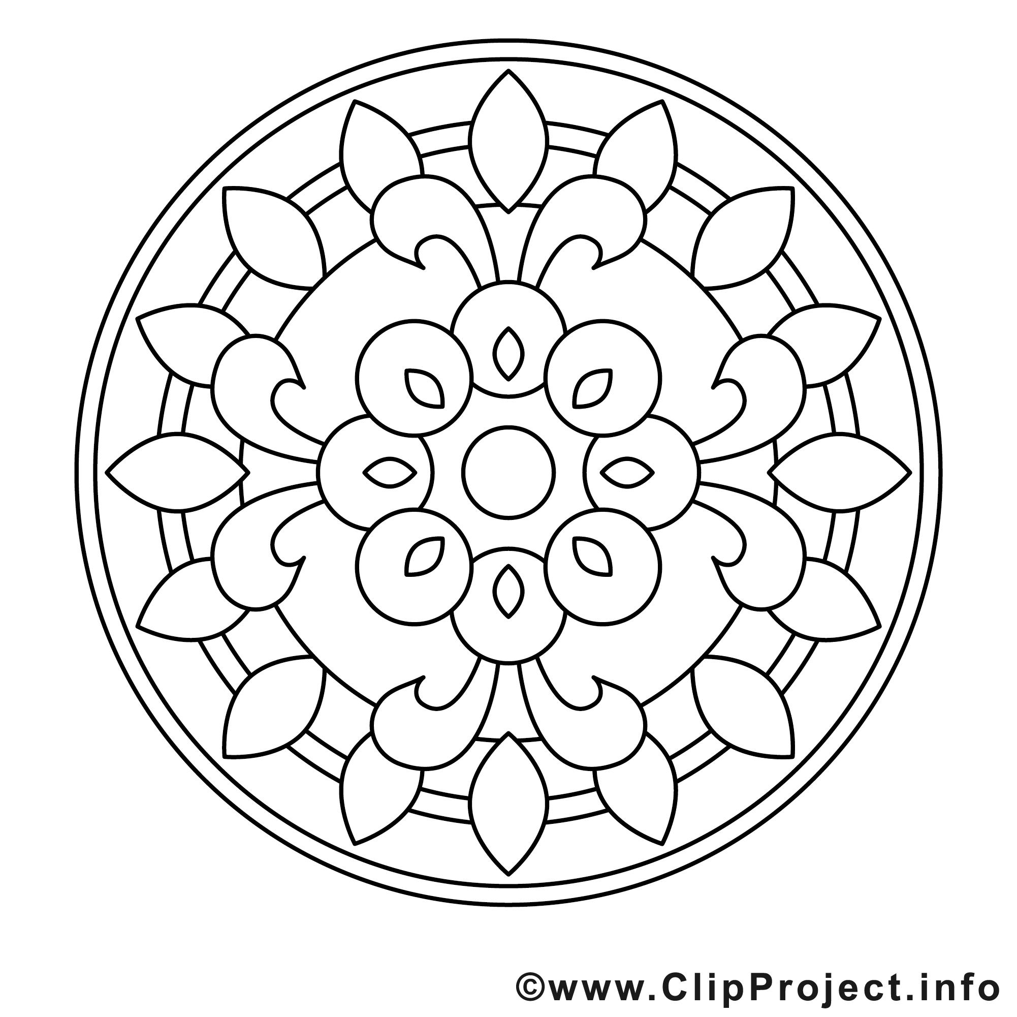 illustration gratuite mandalas à imprimer  mandalas