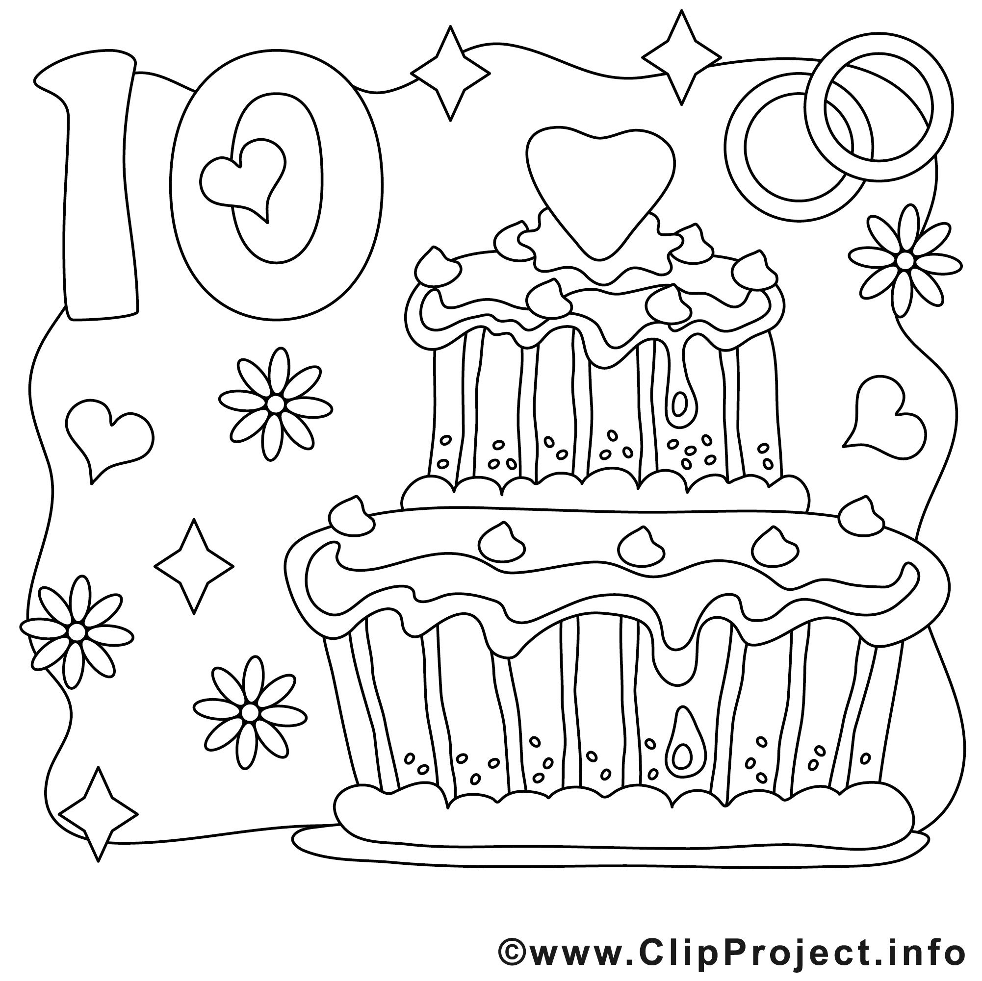 10 Ans Dessin Mariage Gratuits A Imprimer Mariage Coloriages Dessin Picture Image Graphic Clip Art Telecharger Gratuit