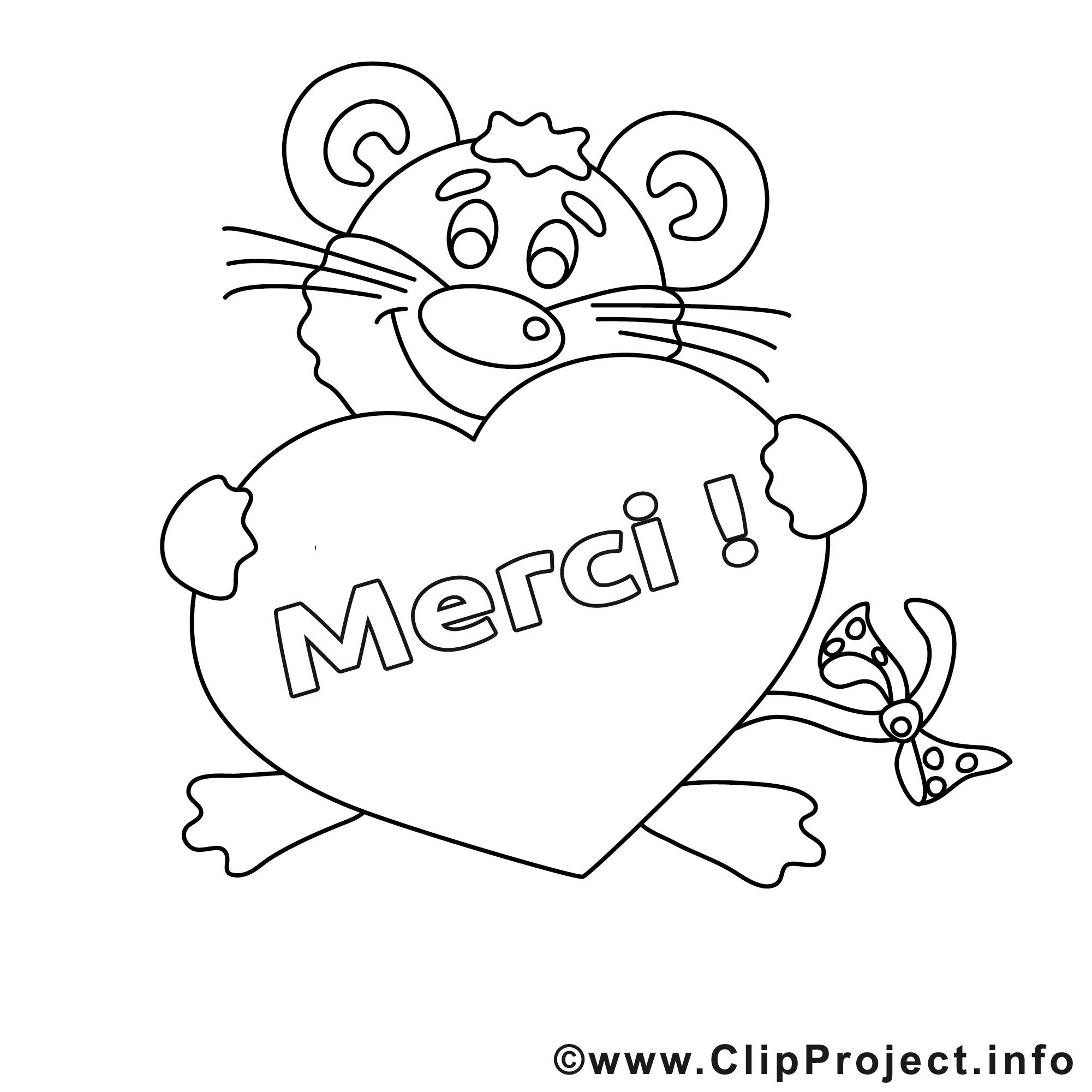 Souris dessin coloriage merci t l charger merci coloriages dessin picture image graphic - Dessin a telecharger ...