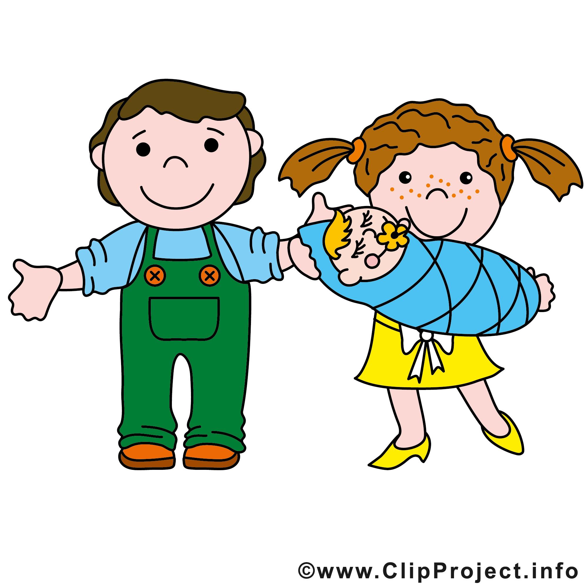Famille Clipart Gratuit Bebe Dessins Gratuits Divers Dessin Picture Image Graphic Clip Art Telecharger Gratuit