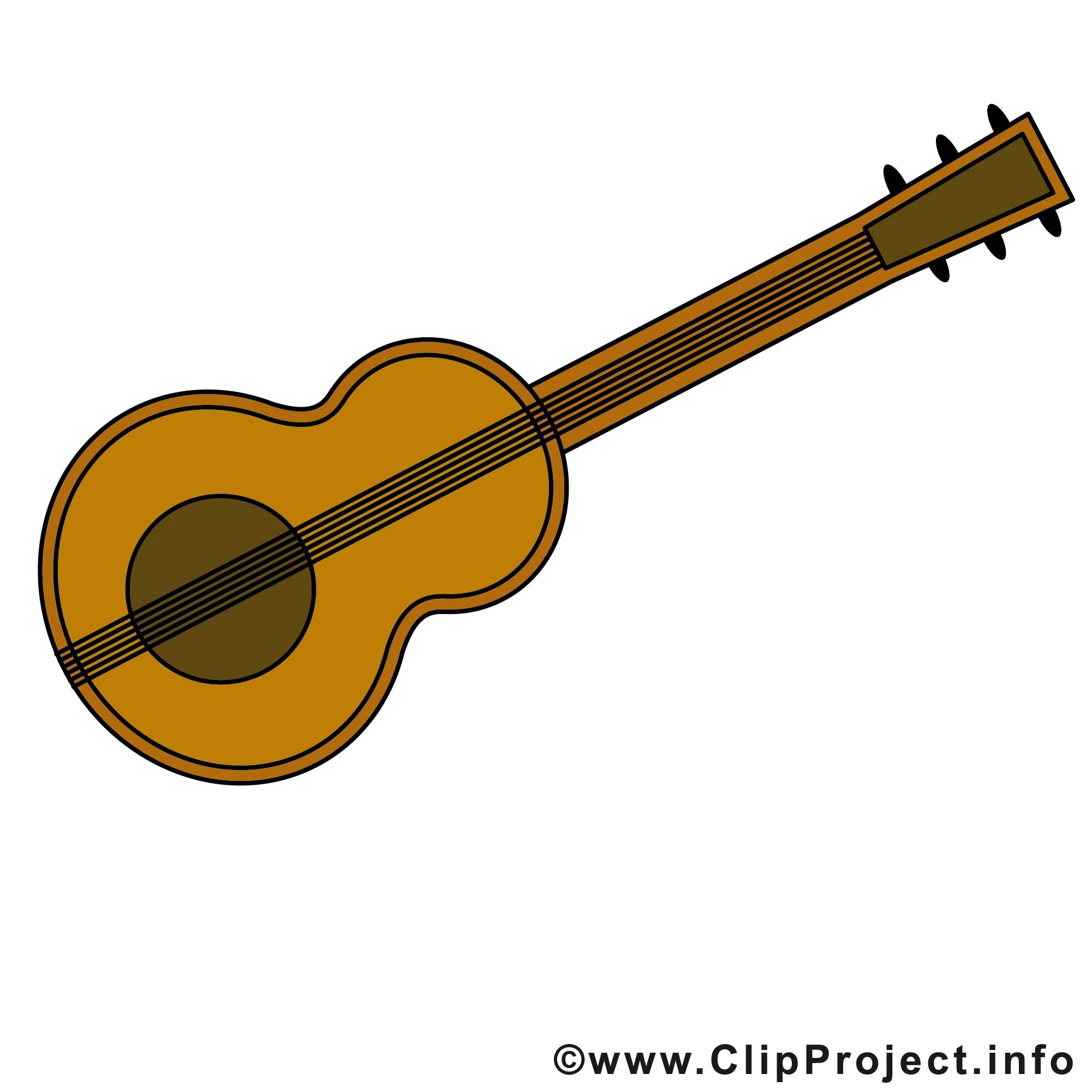 Guitare Clipart guitare images gratuites – musique clipart gratuit - divers dessin