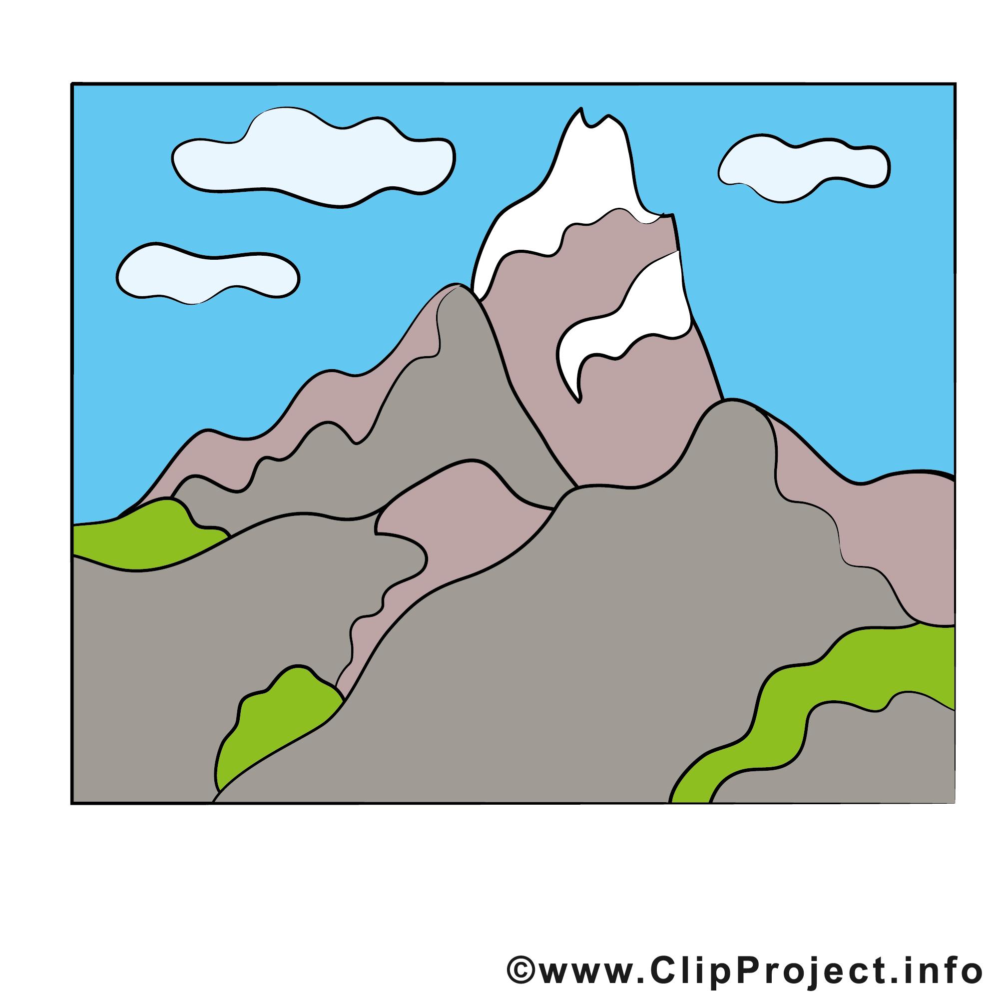 Montagne Clipart Gratuit Ciel Images Divers Dessin Picture Image Graphic Clip Art Telecharger Gratuit