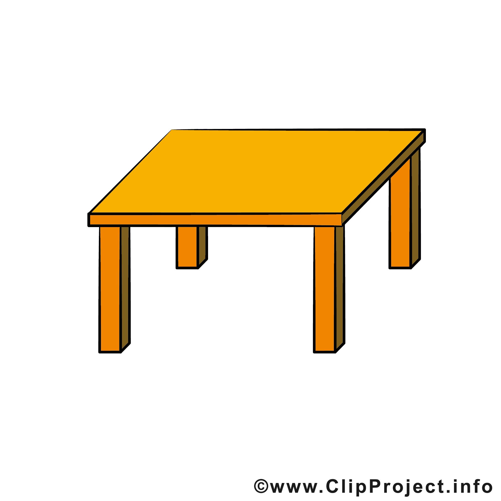 Table Dessin Gratuit à Télécharger