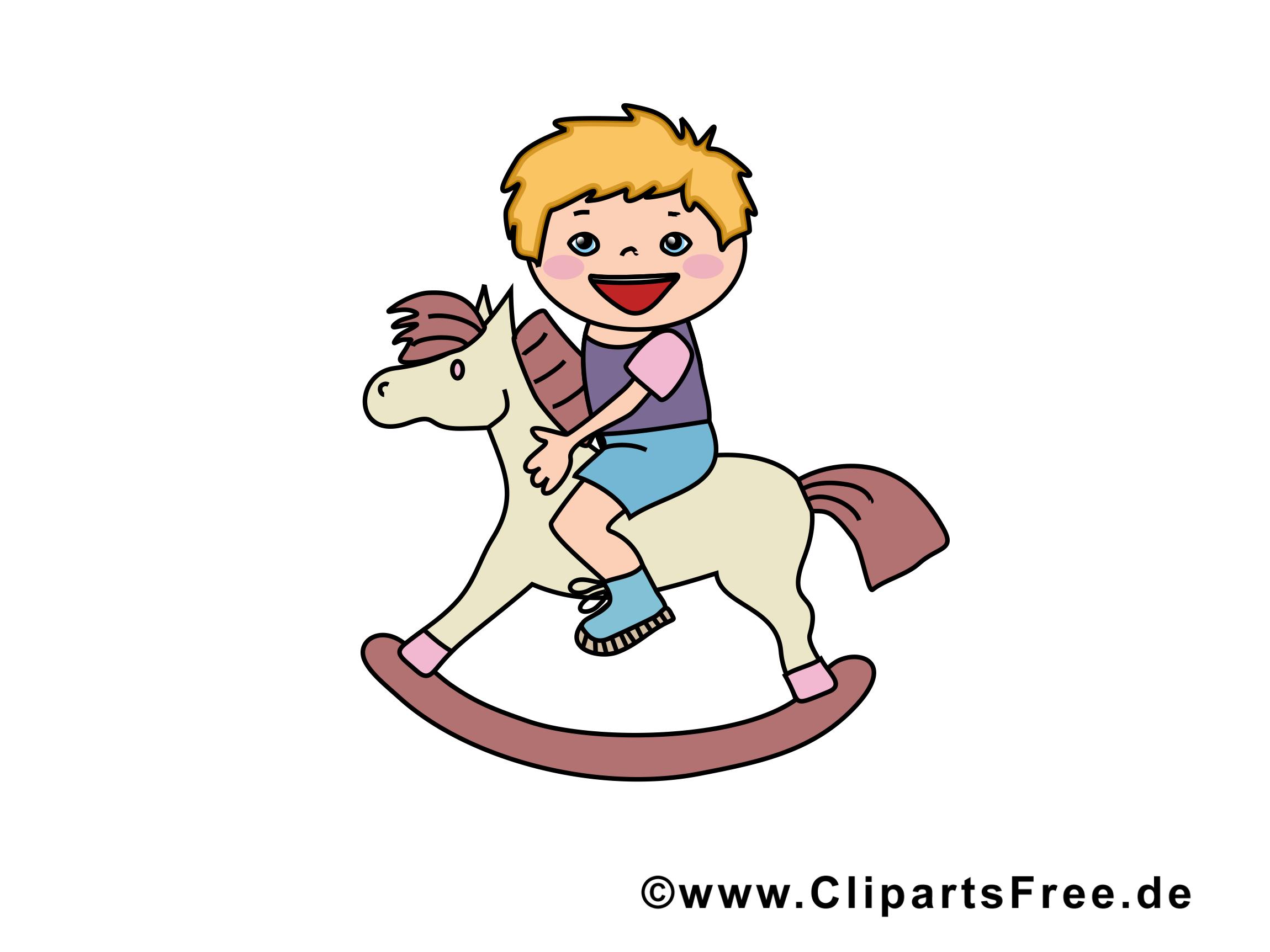 Cheval en bois cliparts gratuis gosse images gratuites - Clipart cheval gratuit ...