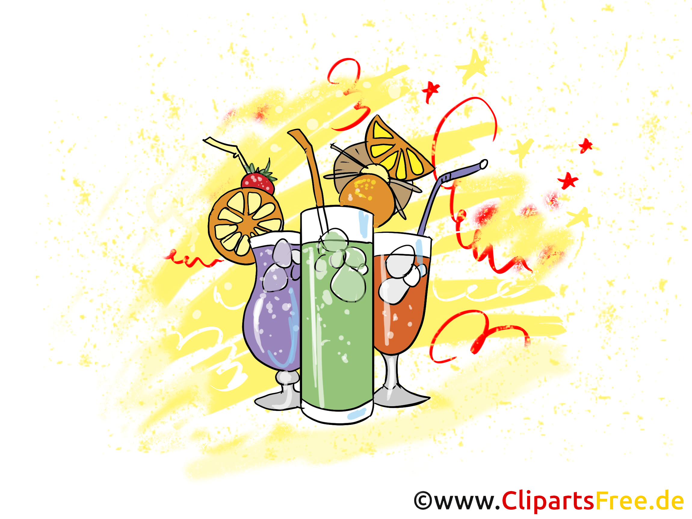 Cocktails dessin gratuit soir e clip arts faire la f te dessin picture image graphic - Dessin cocktail ...