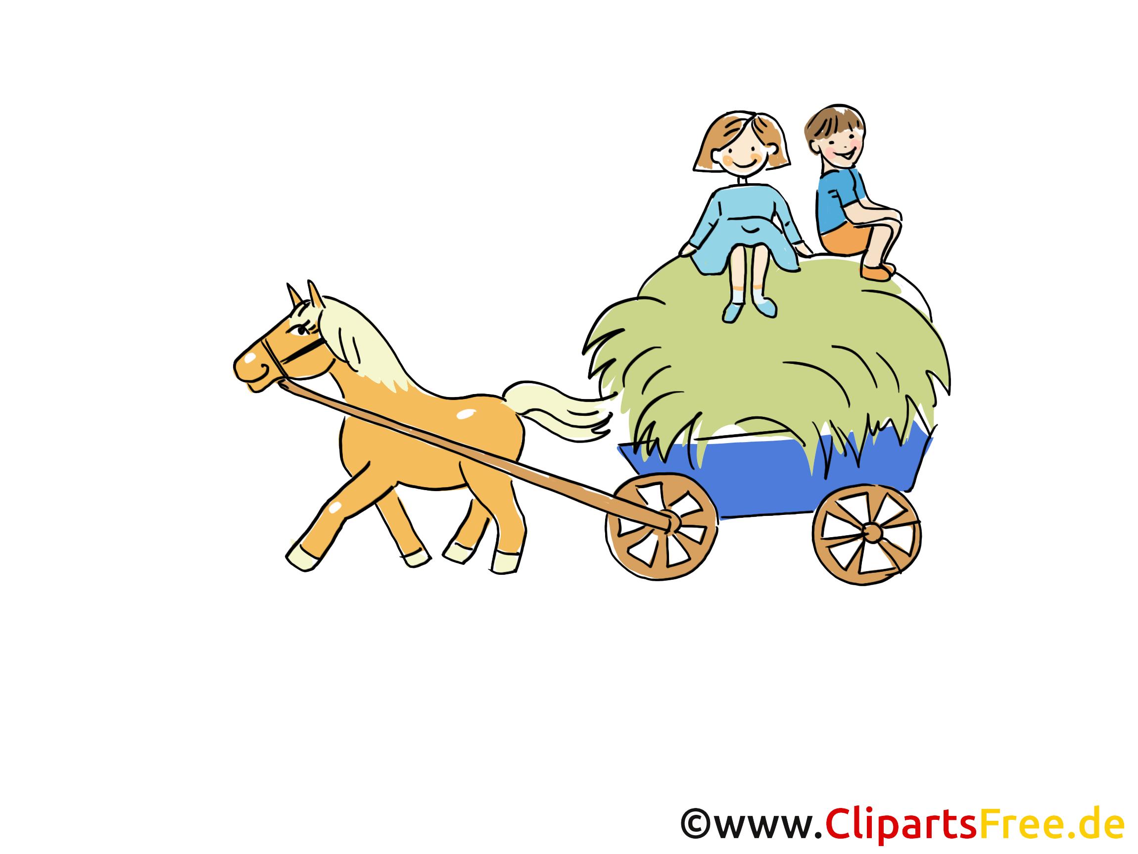 Charrette clipart ferme dessins gratuits ferme dessin - Charrette dessin ...