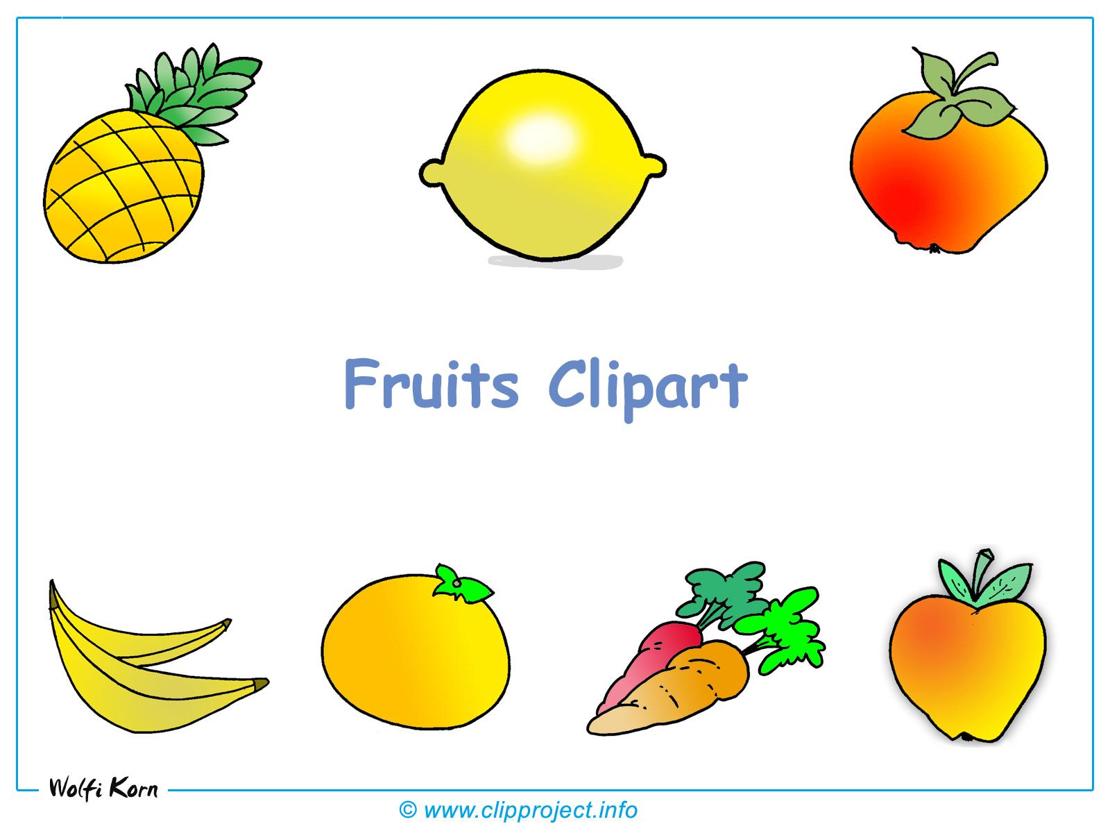 clipart fruits et légumes gratuit - photo #6
