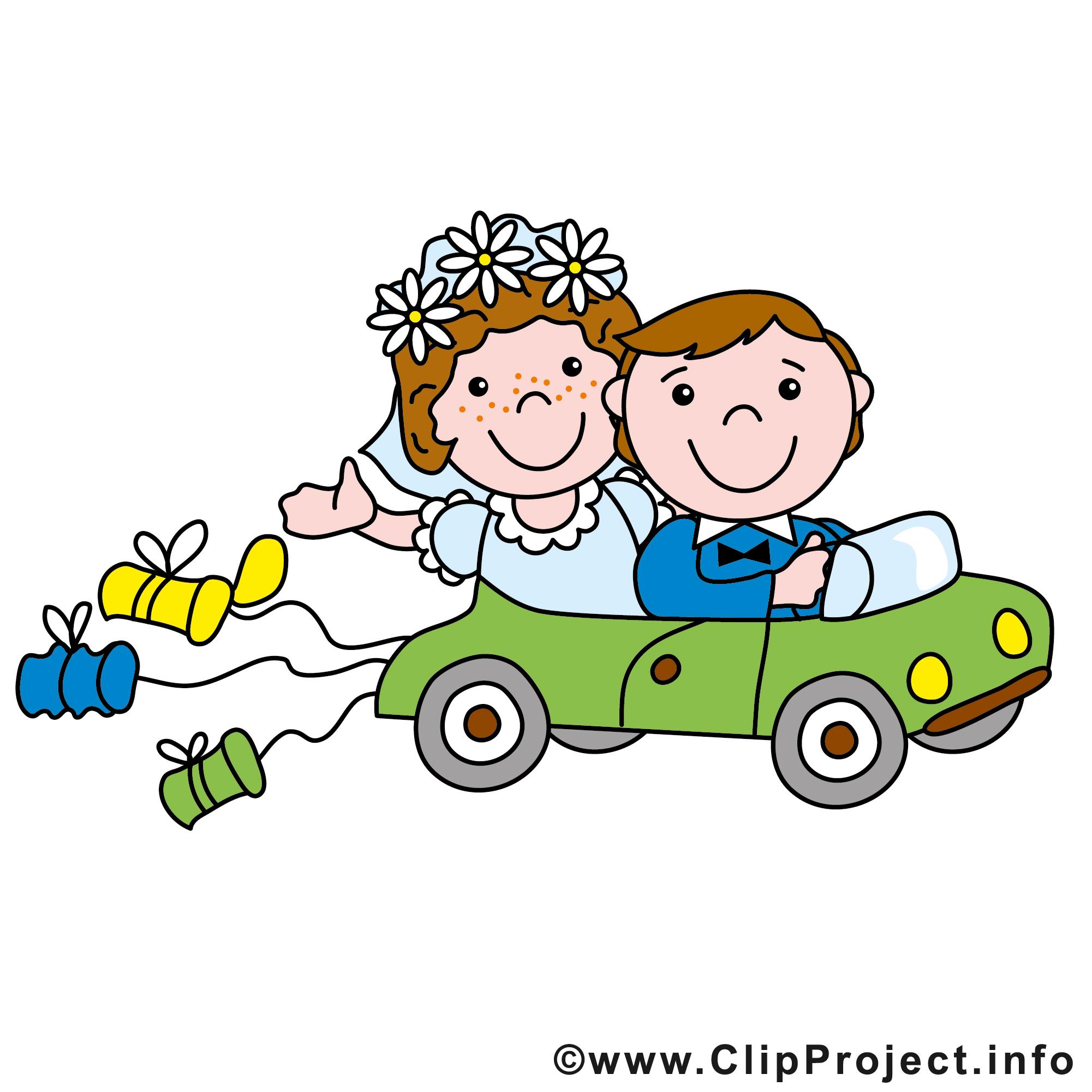 Limousine clipart gratuit - Mariage images - Mariage ...
