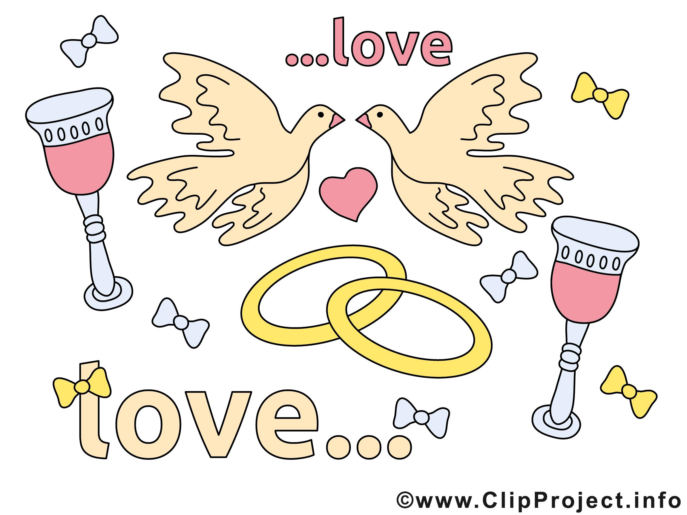 images clipart mariage gratuites - photo #8