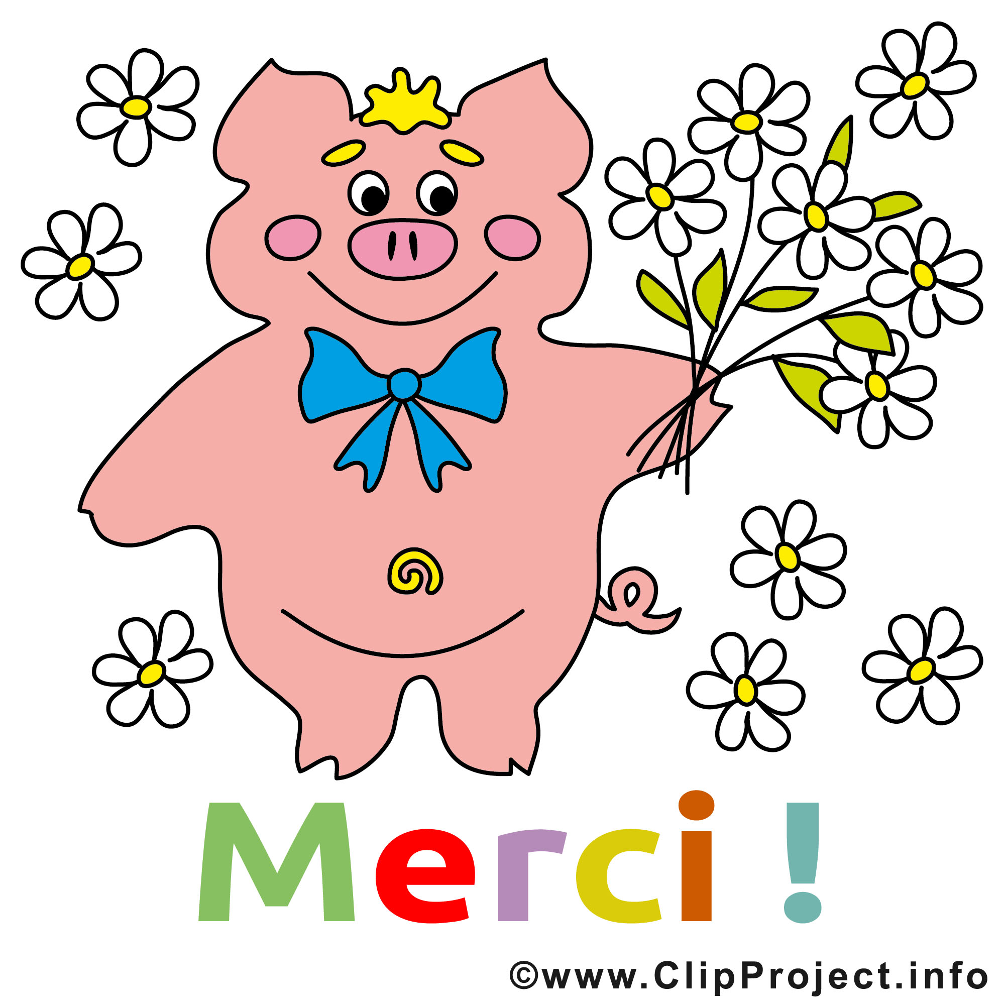 Cochon dessins gratuits merci clipart merci dessin picture image graphic clip art - Dessins gratuits a telecharger ...