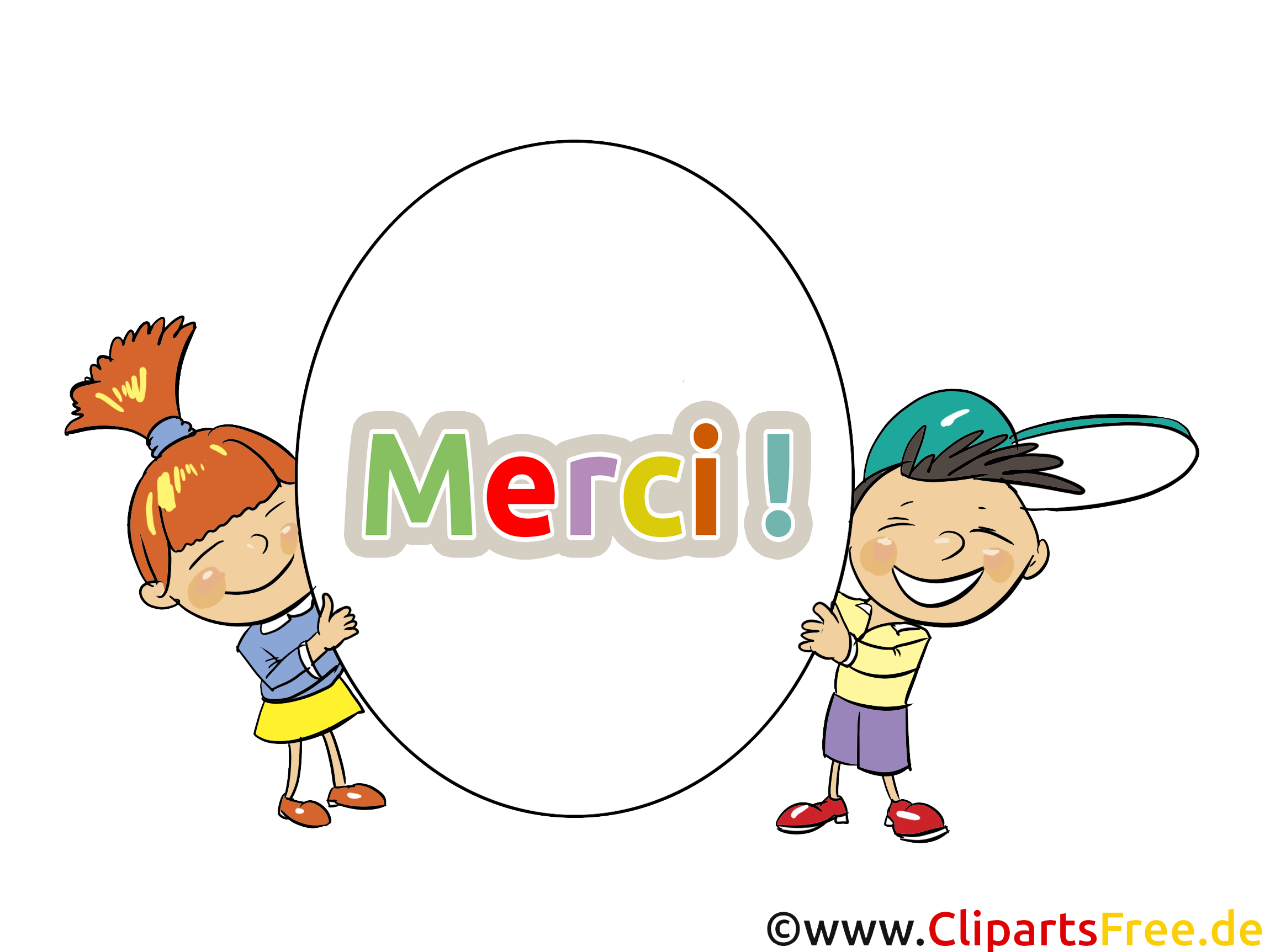 Enfants image gratuite merci cliparts merci dessin - Image dessin enfant ...
