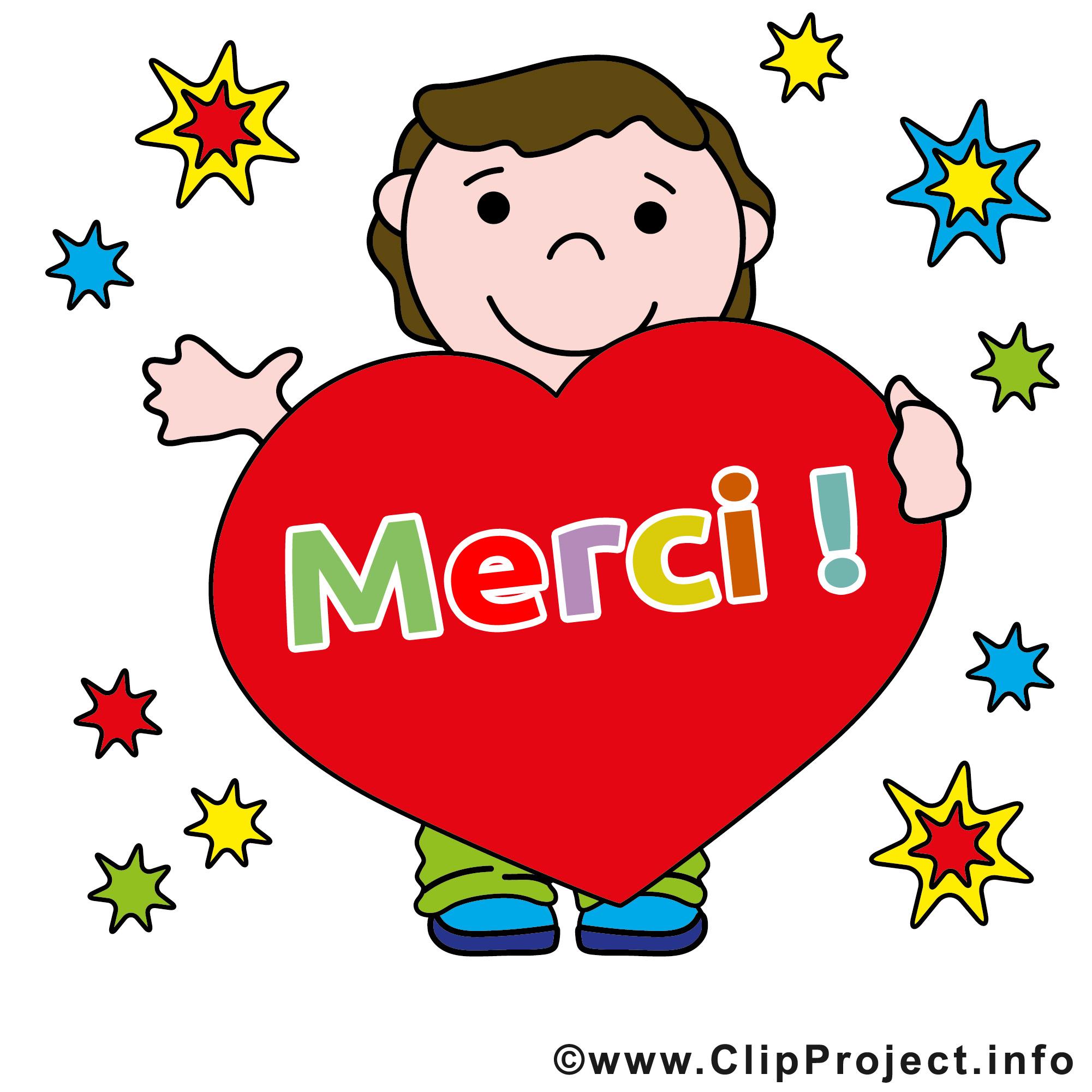 Gar on coeur images gratuites merci clipart merci dessin picture image graphic clip art - Images coeur gratuites ...