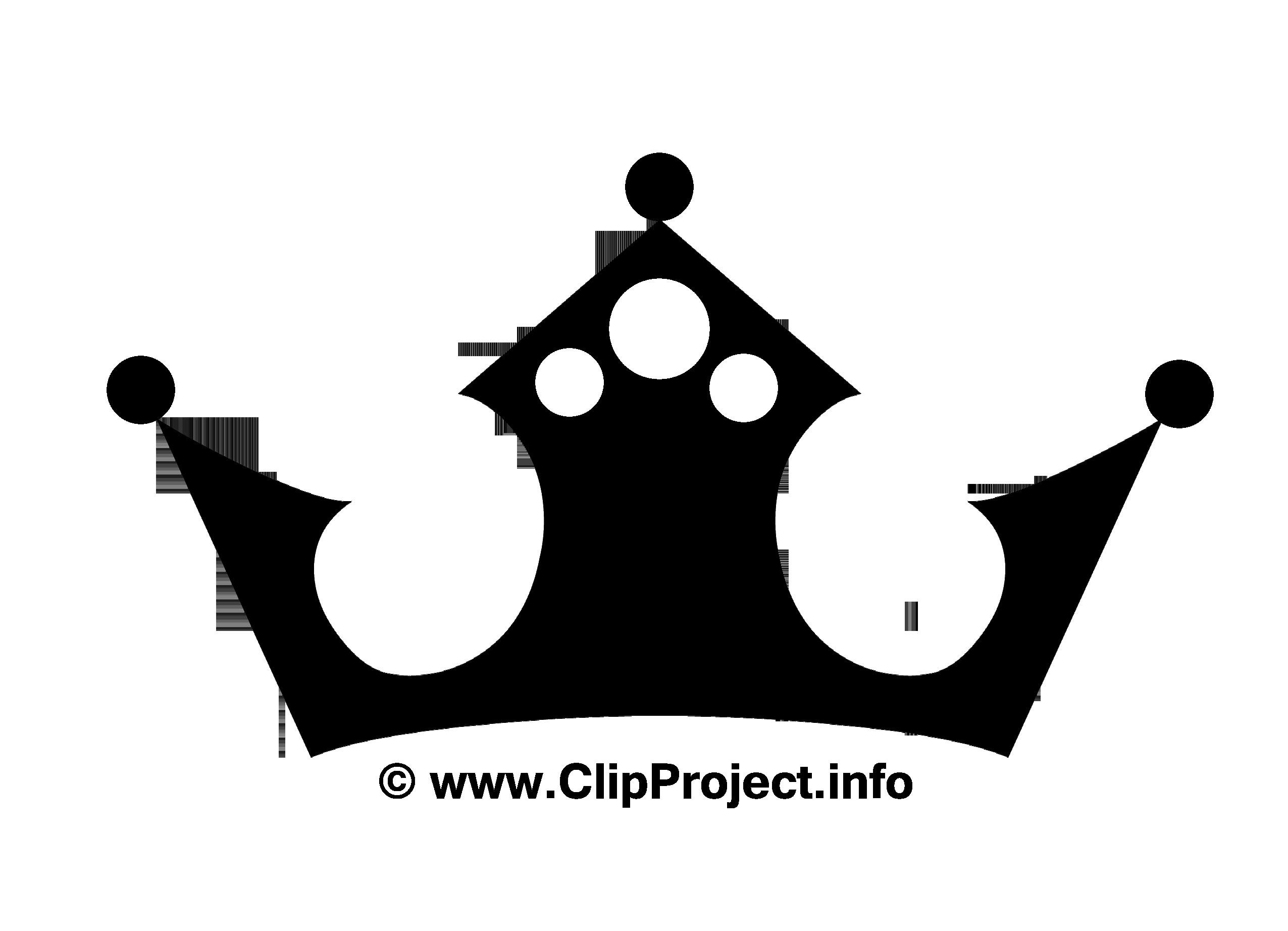 couronne images - noir et blanc clip art gratuit