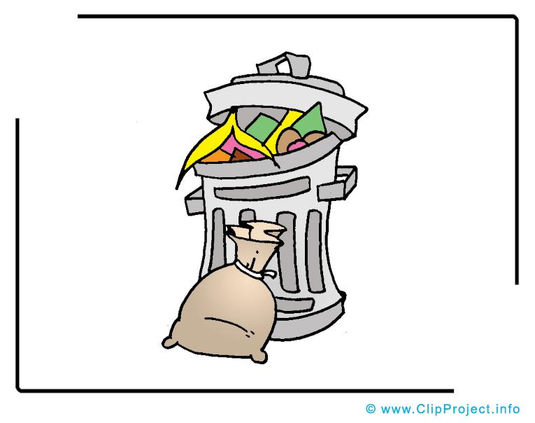Poubelle dessin t l charger images objets dessin picture image graphic clip art - Dessin de poubelle ...