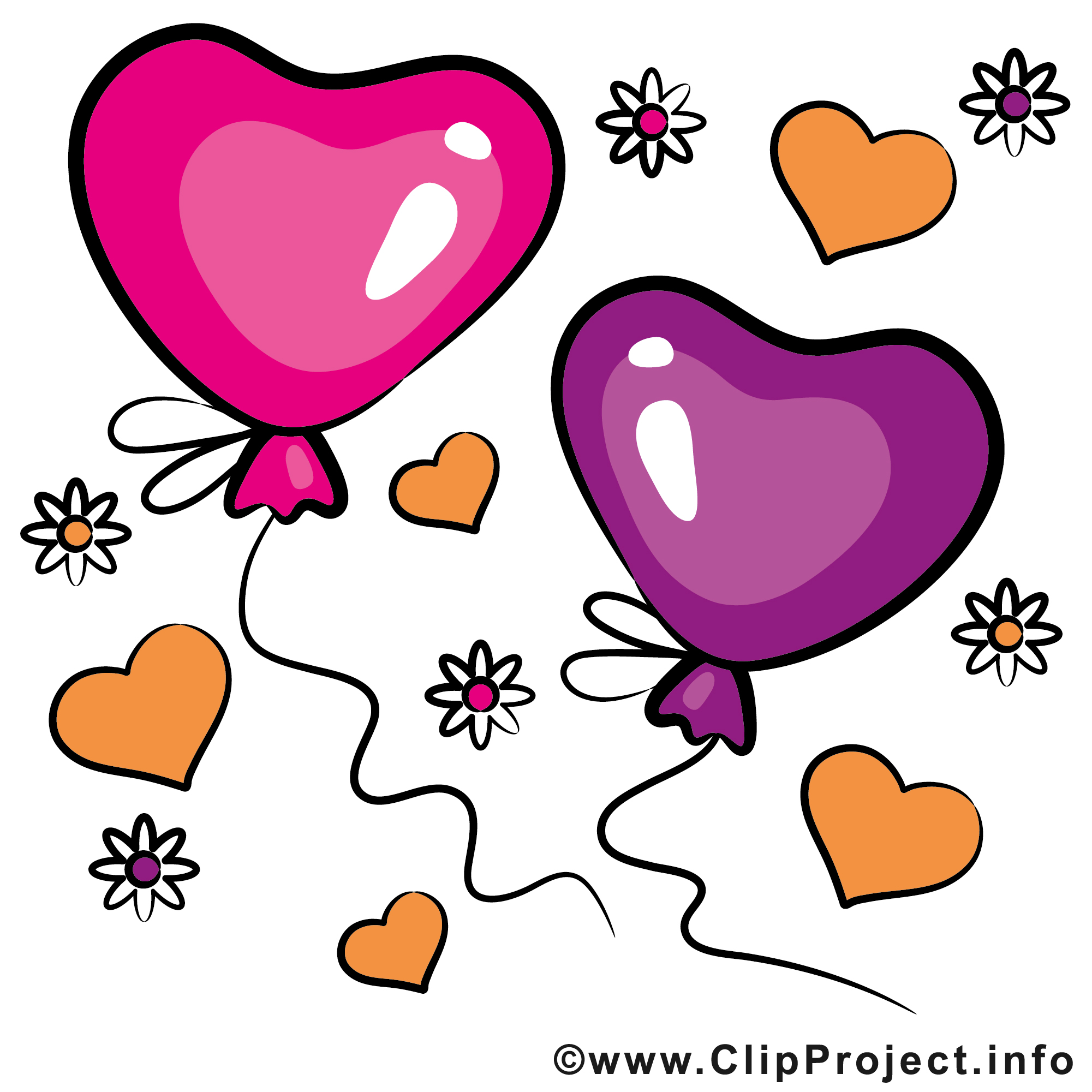 ballons dessin saint valentin cliparts t l charger saint valentin cartes mariage dessin. Black Bedroom Furniture Sets. Home Design Ideas