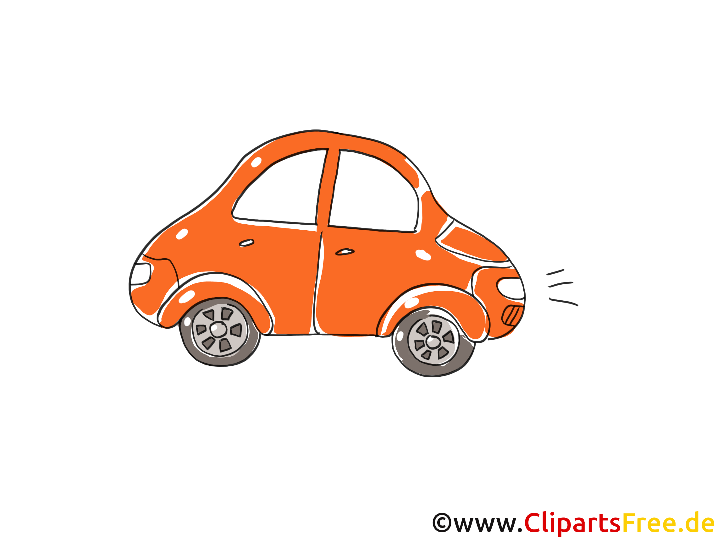 Voiture,cars,tube - Cartoon Cute Car - Free Transparent PNG Clipart Images  Download