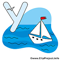 Y yacht dessin gratuit – Alphabet english image