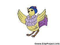 Poule image gratuite - Pâques cliparts