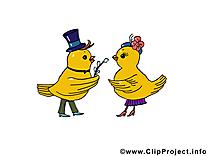 Poussin dessin à télécharger - Pâques images