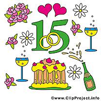 15 ans anniversaire mariage à télécharger