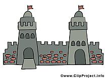 Château clipart gratuit – Biens immobiliers images