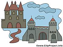 Château illustration – Biens immobiliers images