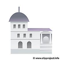 Coloriage illustration immeuble – Biens immobiliers