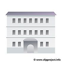 Coloriage immeuble dessin – Biens immobiliers image