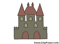Image gratuite château – Biens immobiliers illustration