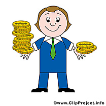 Banquier clip arts gratuits – Argent illustrations