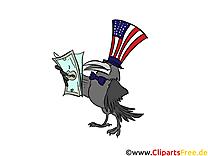 Corbeau amerique clipart gratuit – Argent images