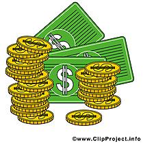 Dollars image à télécharger – Argent clipart