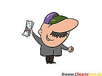 Homme d'affaire clip art – Argent image gratuite