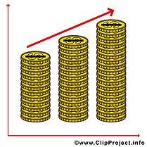 Monnaies illustration – Argent images