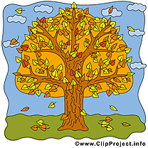 Arbre illustration – Automne images