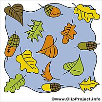 Automne clip arts gratuits illustrations