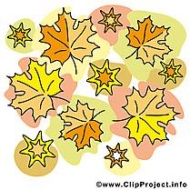 Feuilles automne illustration à télécharger gratuite