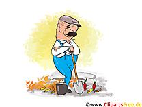 Jardinier automne image à télécharger gratuite