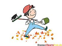 Jardinier dessins gratuits – Automne clipart
