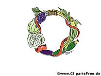 Légumes fruits images gratuites - Automne clipart