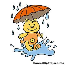 Parapluie chat image – Automne images cliparts