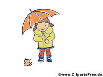 Parapluie image à télécharger – Automne clipart